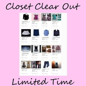 Closet Dresses - Closet Clear Out. Discount Shipping. Limited Time!